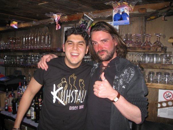 Chris and Kushtall Barman