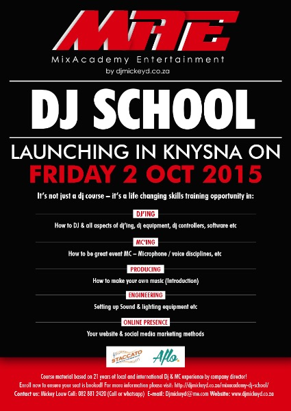 MixAcademy Dj School Poster Final